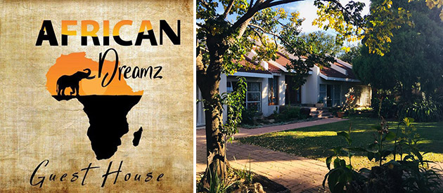 African Dreamz Guest House - Kroontad accommodation - Free State