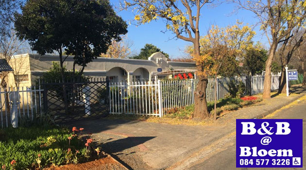 b&b at bloem, b&b @ bloem, wedding b&b, bed and breakfast, bloemfontein accommodation, guest house, free state weddings
