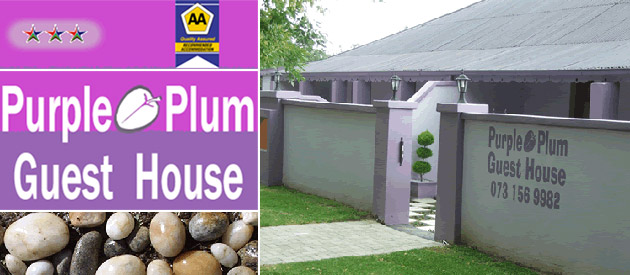 Purple Plum Guest House - Harrismith accommodation - Free State
