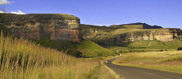Van Reenen, on the border between KwaZulu Natal and the Free State in the Thabo Mofutsanyana region of South Africa.