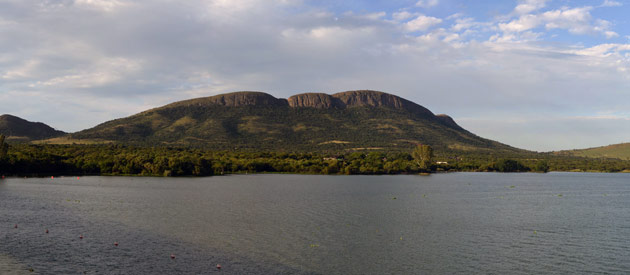 The Vaal Dam is a popular tourist area located in the Northern region of the Free State, South Africa.