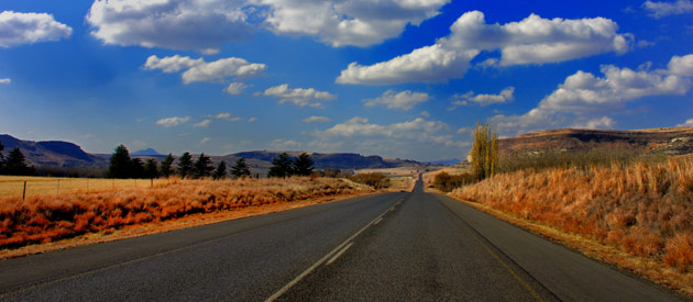 Edenville, in The Free State, South Africa